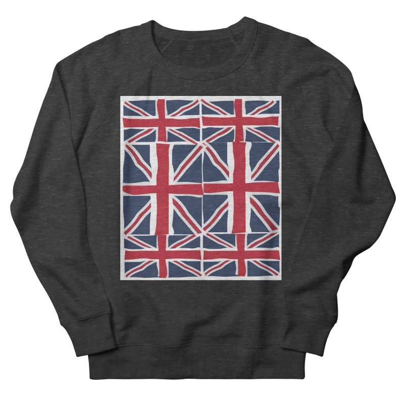 Union Jack pattern Men's Sweatshirt by snapdragon64's Shop
