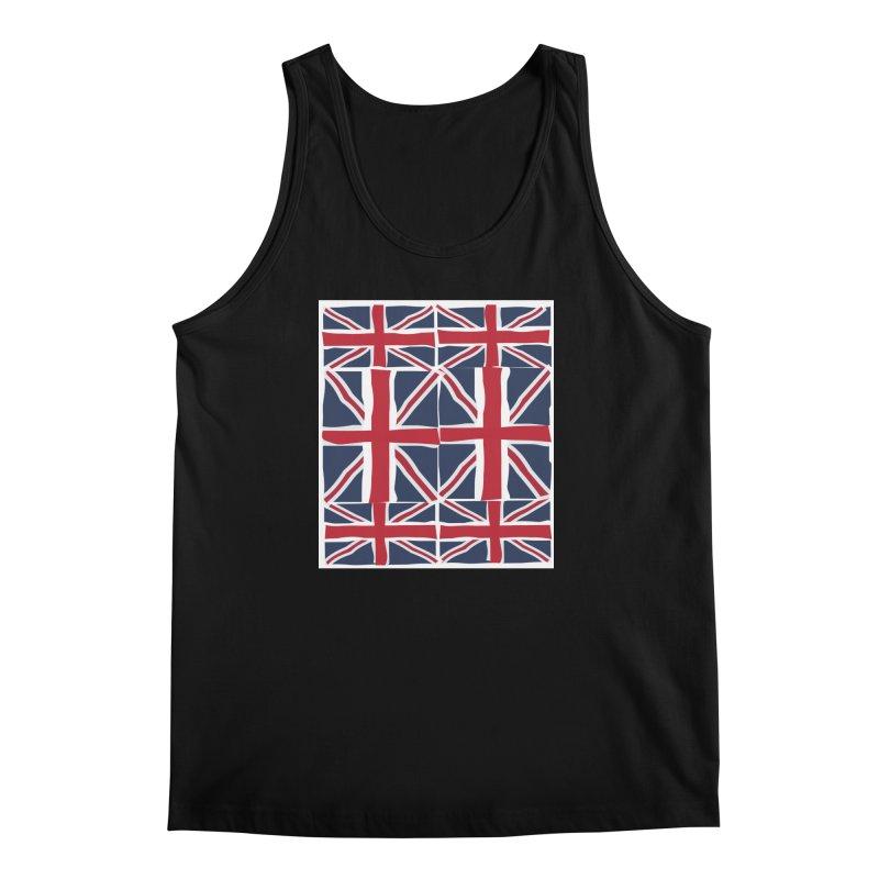 Union Jack pattern Men's Regular Tank by snapdragon64's Shop