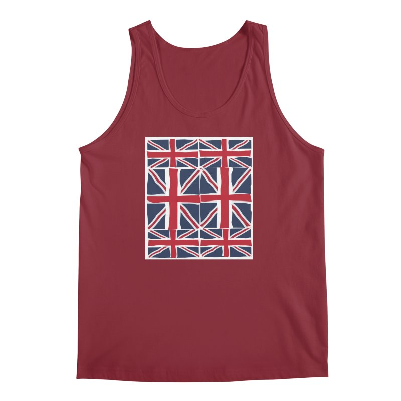 Union Jack pattern Men's Regular Tank by snapdragon64's Shop