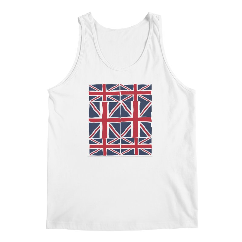 Union Jack pattern Men's Tank by snapdragon64's Shop