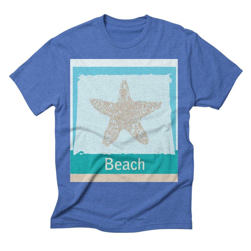 Beach Men's T-Shirt by snapdragon64's Shop
