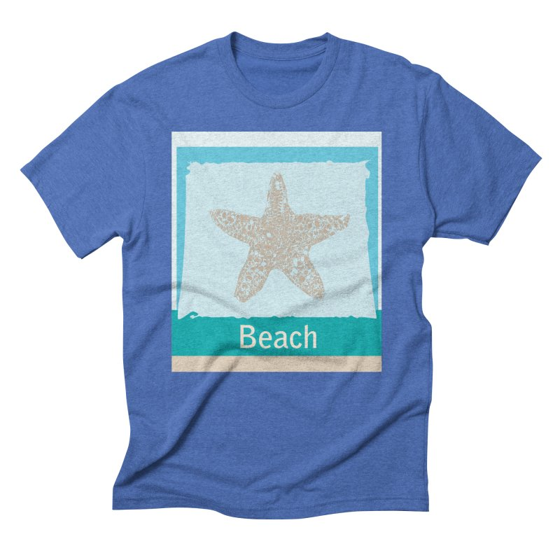 Beach Men's T-Shirt by snapdragon64's Shop