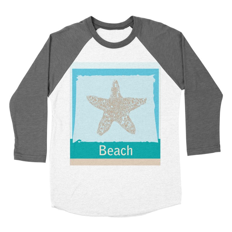 Beach Men's Longsleeve T-Shirt by snapdragon64's Shop