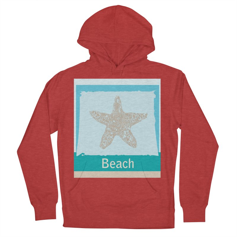 Beach Women's Pullover Hoody by snapdragon64's Shop