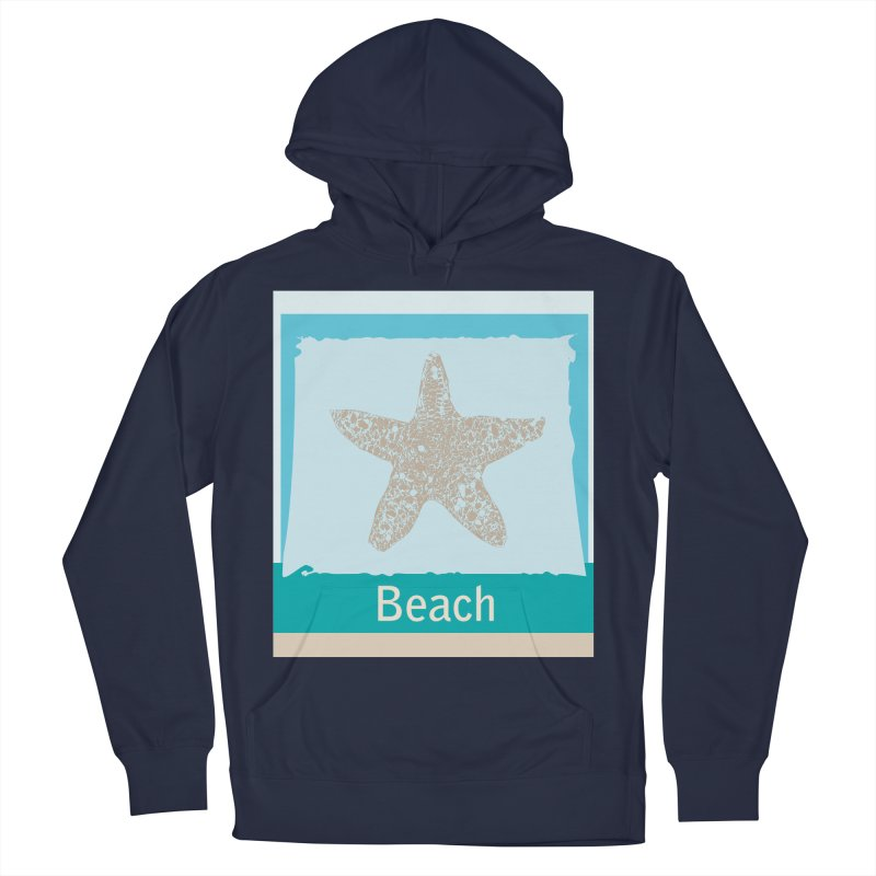 Beach Women's French Terry Pullover Hoody by snapdragon64's Shop