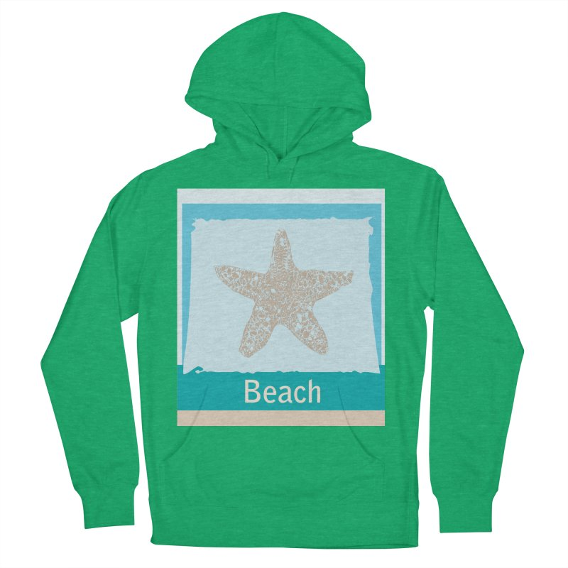 Beach Men's Pullover Hoody by snapdragon64's Shop