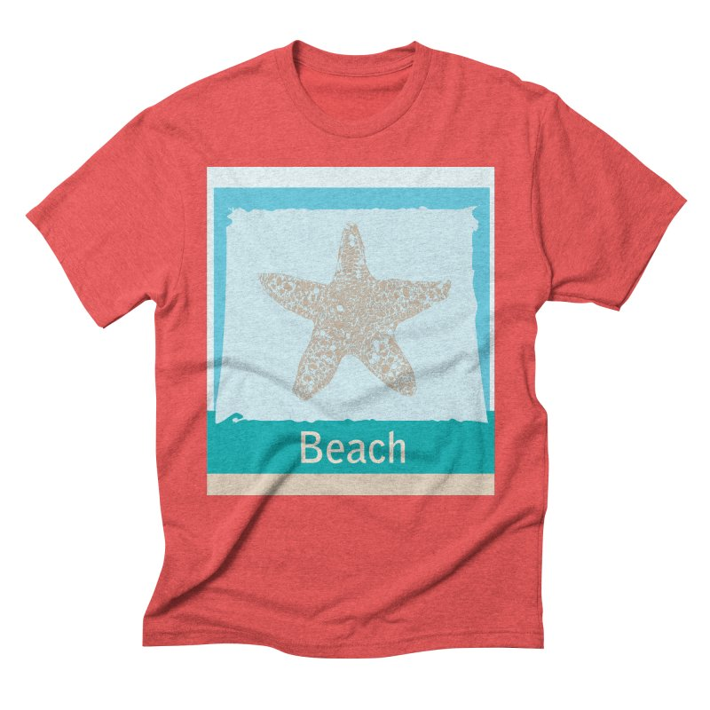 Beach Men's Triblend T-Shirt by snapdragon64's Shop