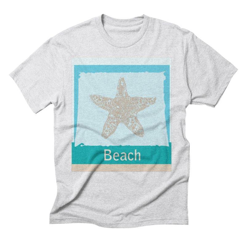 Beach Men's Triblend T-Shirt by snapdragon64's Shop