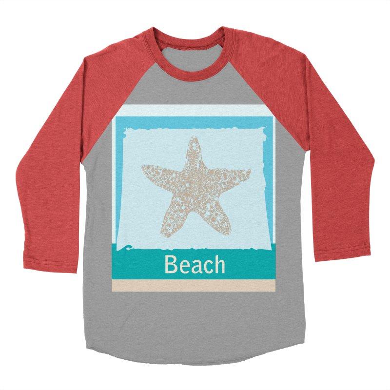 Beach Women's Baseball Triblend Longsleeve T-Shirt by snapdragon64's Shop