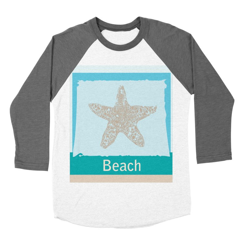 Beach Men's Baseball Triblend Longsleeve T-Shirt by snapdragon64's Shop