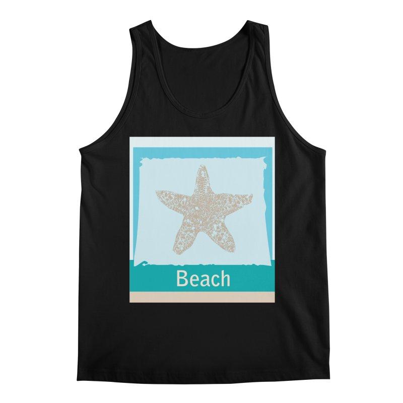 Beach Men's Regular Tank by snapdragon64's Shop
