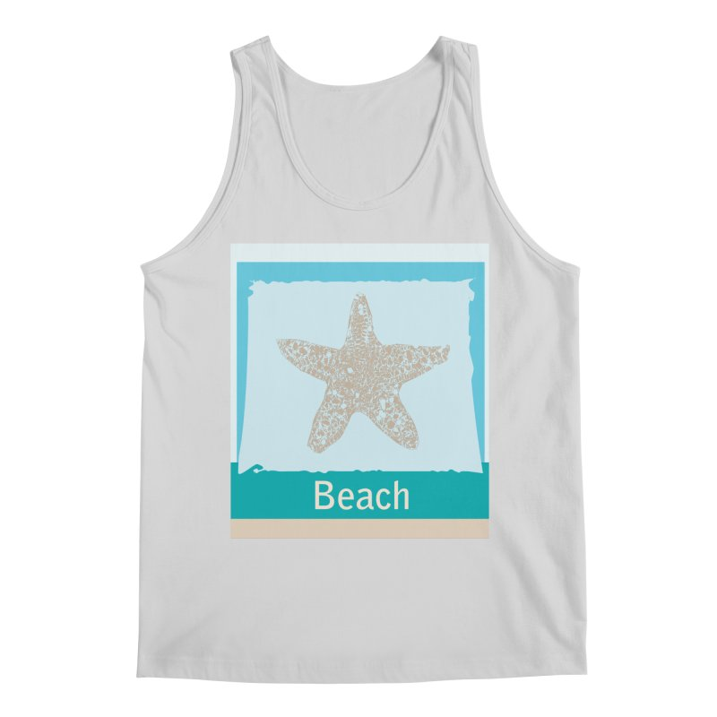 Beach Men's Regular Tank by snapdragon64's Shop