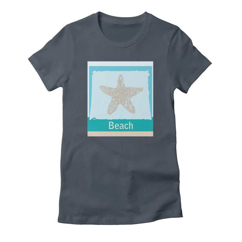 Beach Women's T-Shirt by snapdragon64's Shop