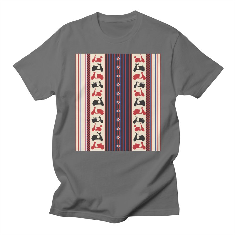 Mod scooters Men's T-Shirt by snapdragon64's Shop