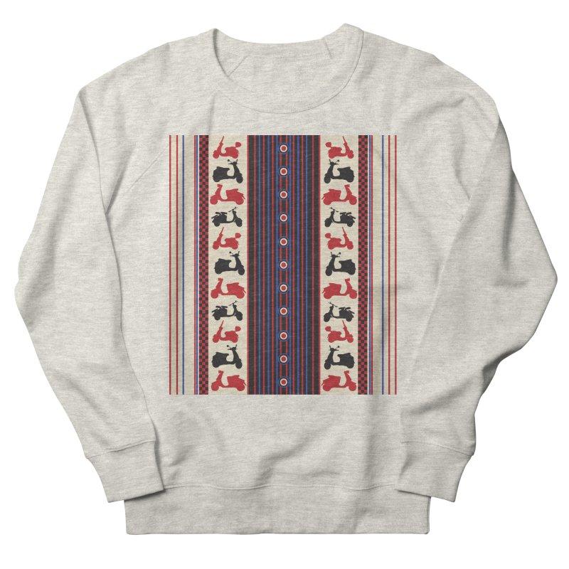 Mod scooters Women's Sweatshirt by snapdragon64's Shop