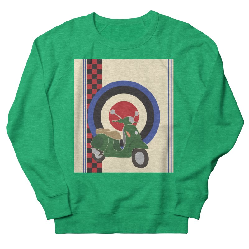Mod scooter with symbols Men's Sweatshirt by snapdragon64's Shop
