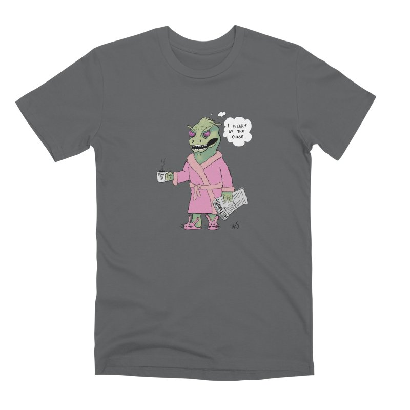 Suffering Gorn Men's T-Shirt by The Snapperama Shop