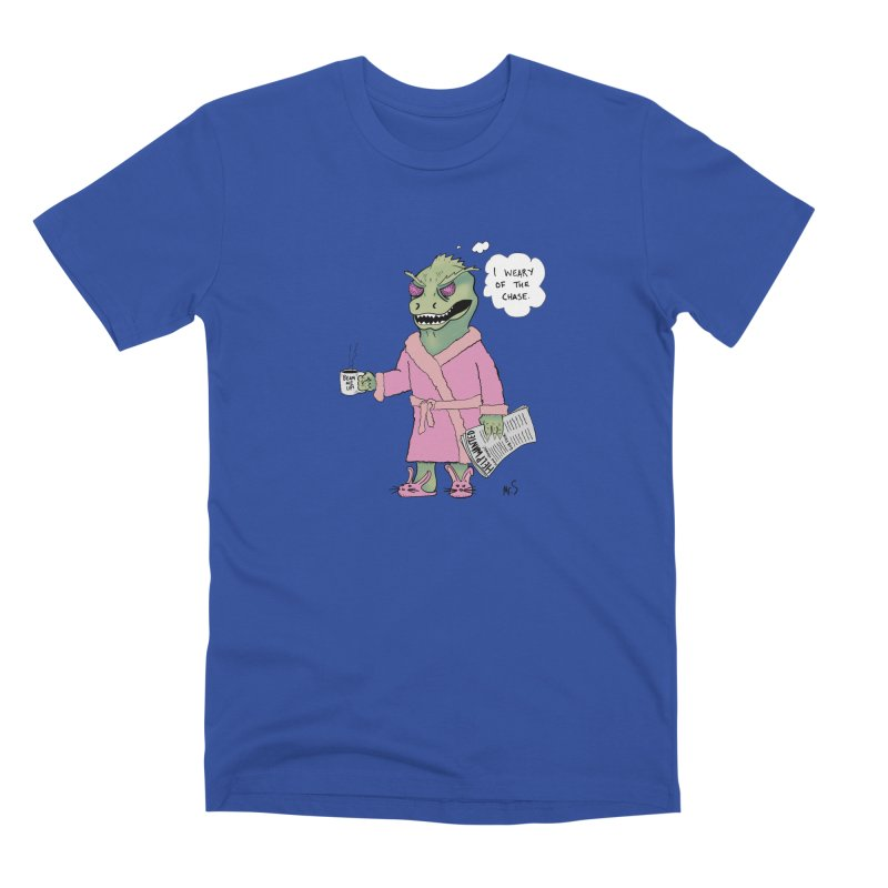 Suffering Gorn Men's T-Shirt by The Snapperama Shop
