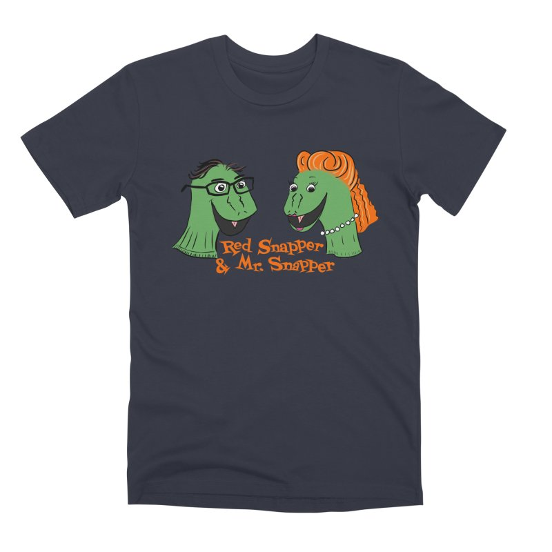 Snapper Sock Puppets Men's T-Shirt by The Snapperama Shop