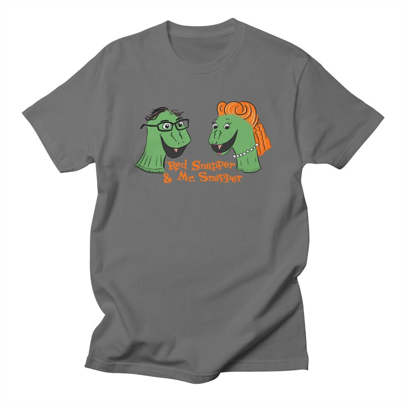 Snapper Sock Puppets Women's T-Shirt by The Snapperama Shop
