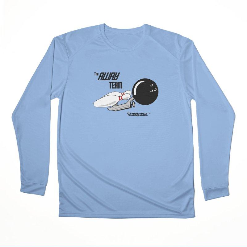 The Away Team Men's Longsleeve T-Shirt by The Snapperama Shop