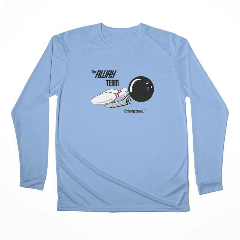The Away Team Women's Longsleeve T-Shirt by The Snapperama Shop