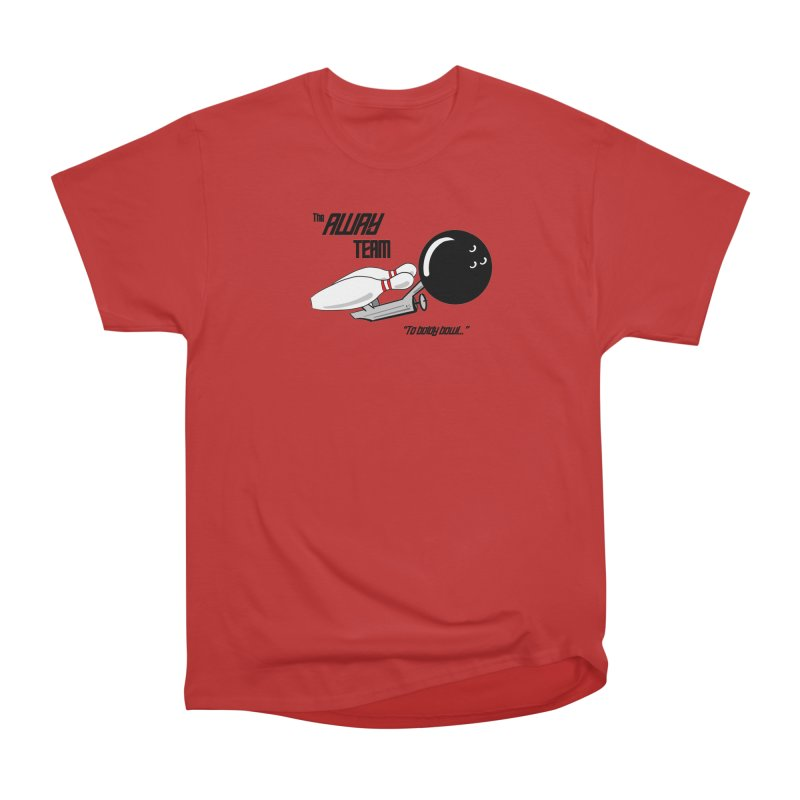 The Away Team Men's T-Shirt by The Snapperama Shop