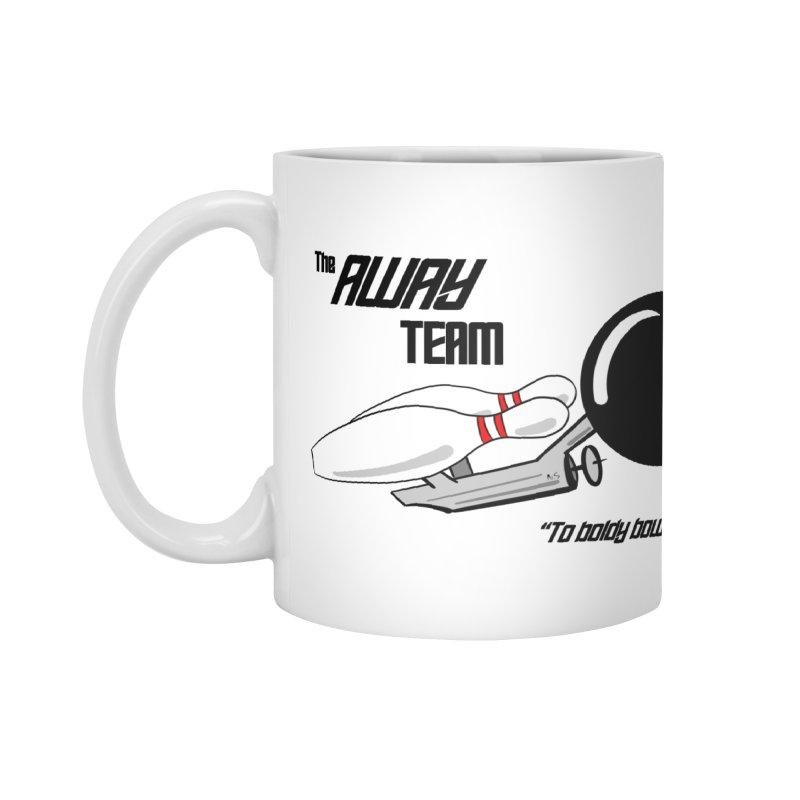 The Away Team Accessories Mug by The Snapperama Shop