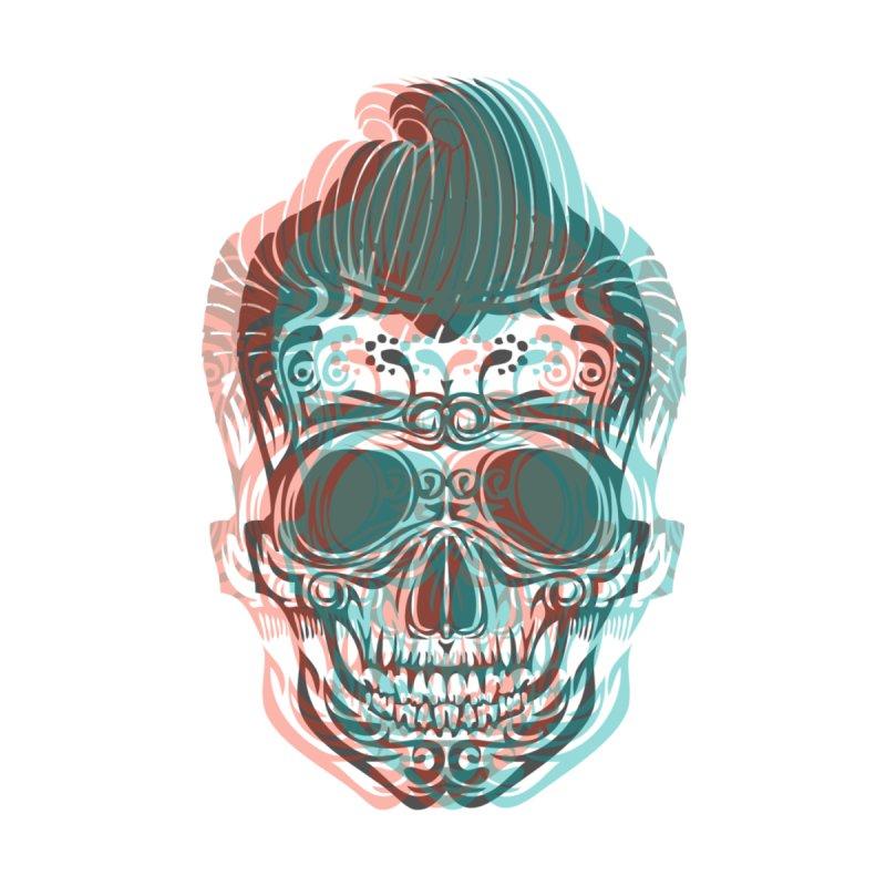 Skull Rockabilly Accessories Bag by Sneaky Nieky's Artist Shop