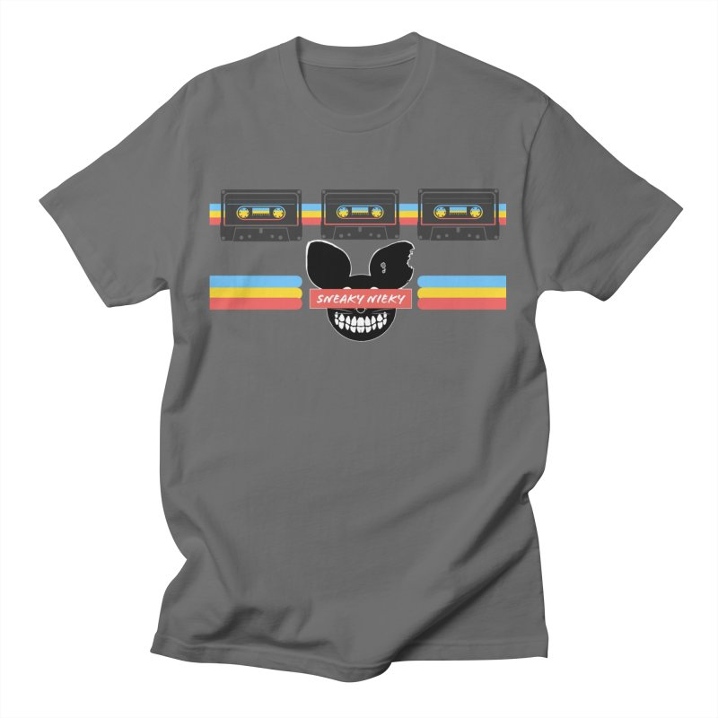 SN Retro Cassette Men's T-Shirt by Sneaky Nieky's Artist Shop