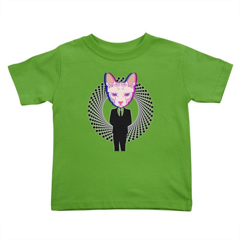 Spynx Boss Kids Toddler T-Shirt by Sneaky Nieky's Artist Shop