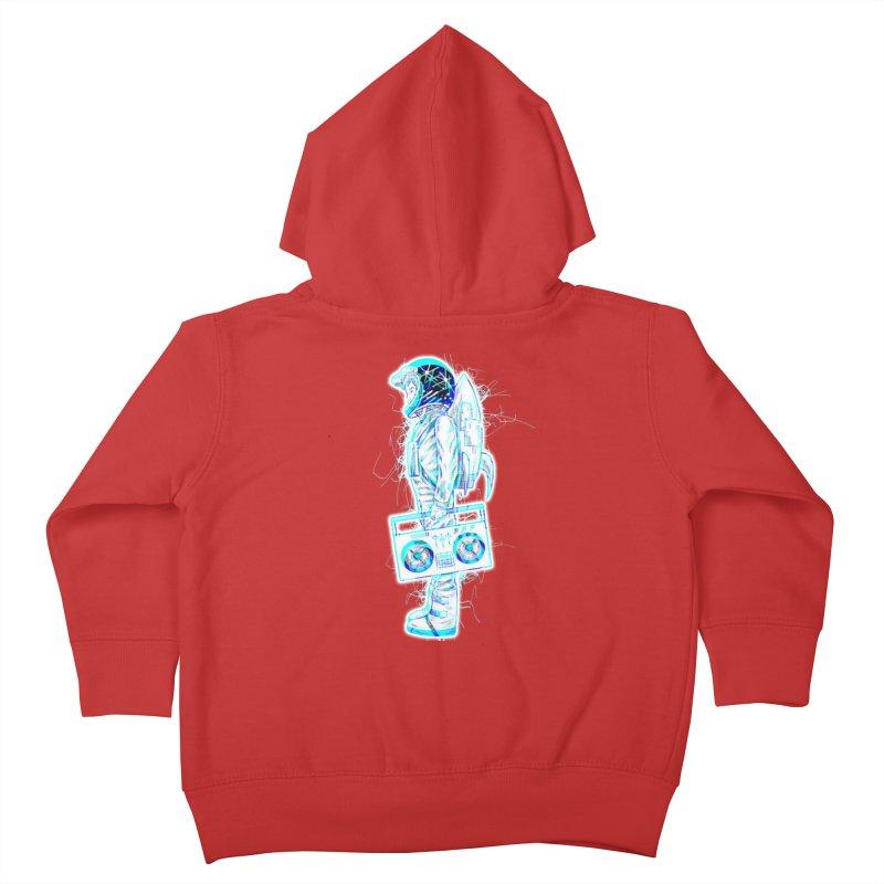 Rocketboy Kids Toddler Zip-Up Hoody by Sneaky Nieky's Artist Shop