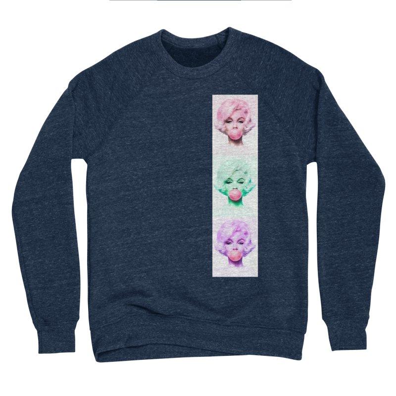 Bubblegum Girl Women's Sweatshirt by Sneaky Nieky's Artist Shop
