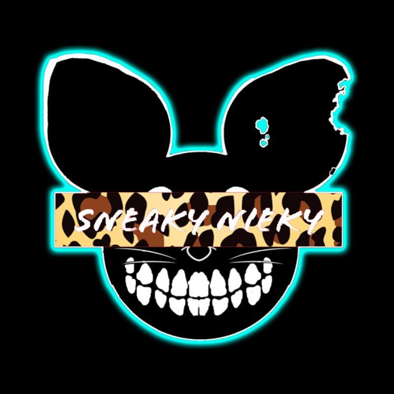 Logo Leopard Women's Longsleeve T-Shirt by Sneaky Nieky's Artist Shop