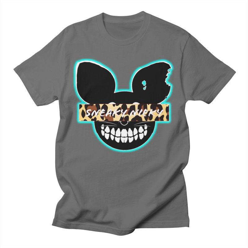 Logo Leopard Men's T-Shirt by Sneaky Nieky's Artist Shop