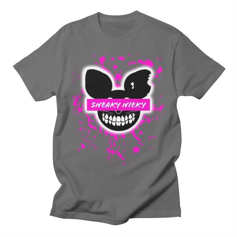 Logo Splatter Men's T-Shirt by Sneaky Nieky's Artist Shop