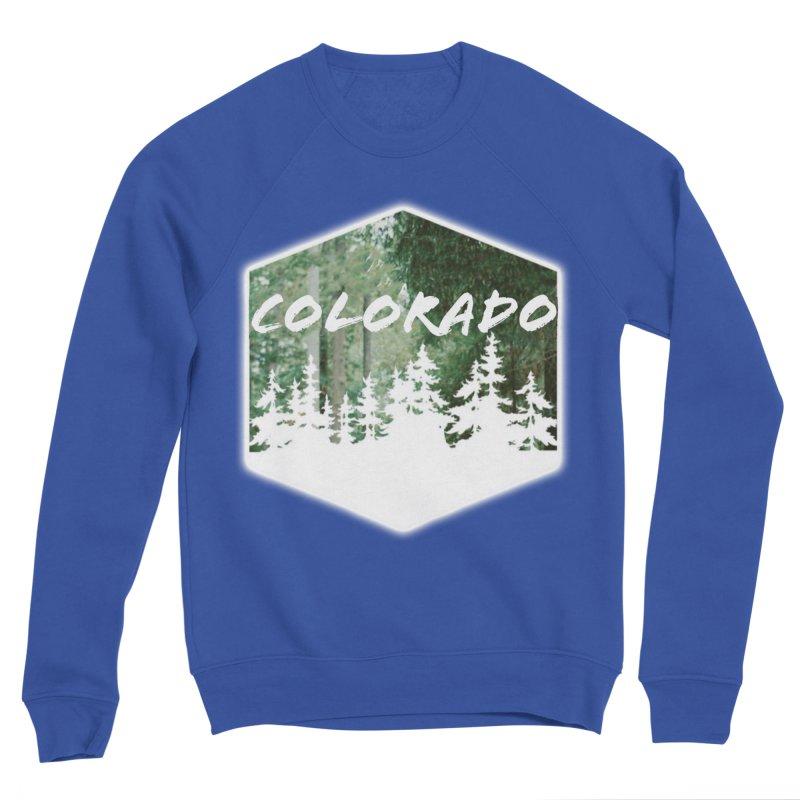 Colorado Trees Women's Sweatshirt by Sneaky Nieky's Artist Shop