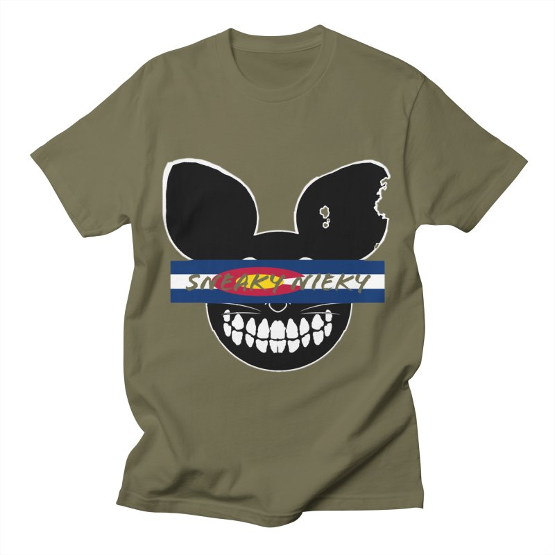 SN Colorado Men's T-Shirt by Sneaky Nieky's Artist Shop