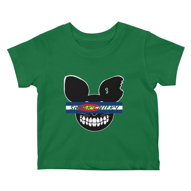 SN Colorado Kids Baby T-Shirt by Sneaky Nieky's Artist Shop