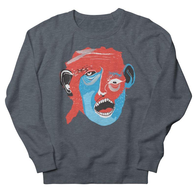 Lover Men's French Terry Sweatshirt by Snezana Pupovic SNEP