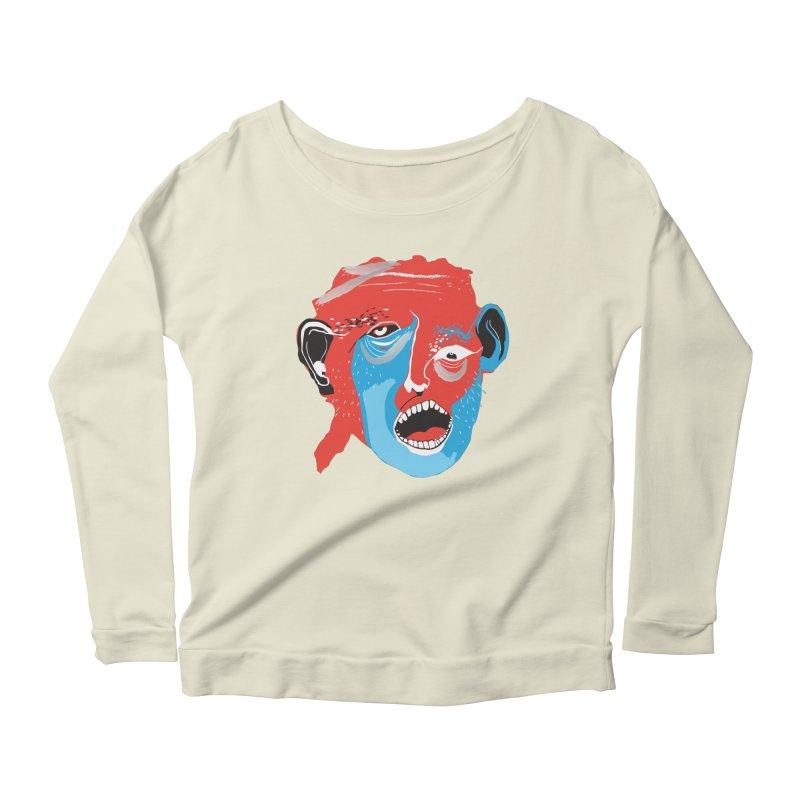 Lover Women's Scoop Neck Longsleeve T-Shirt by Snezana Pupovic SNEP