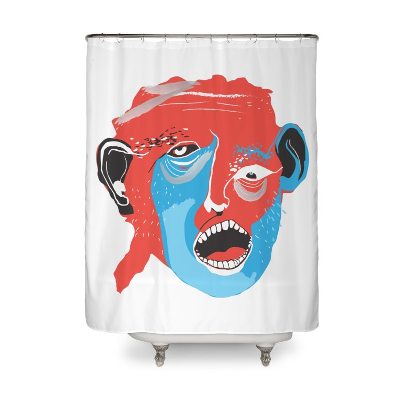 Lover Home Shower Curtain by Snezana Pupovic SNEP