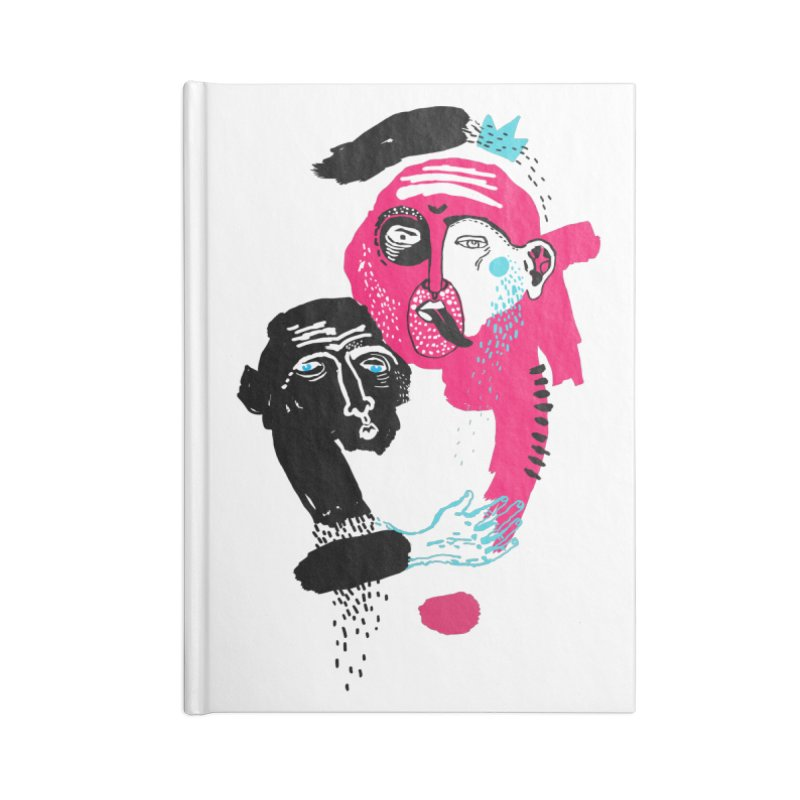 Lovers I Accessories Blank Journal Notebook by Snezana Pupovic SNEP