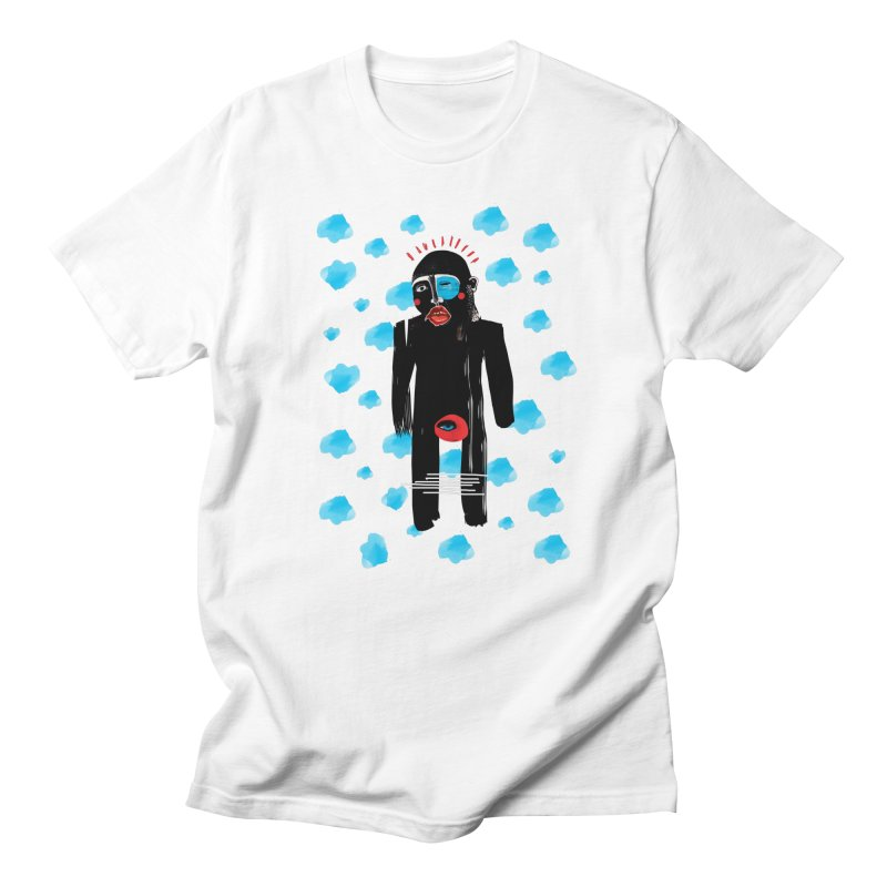 Man From Cloud Men's T-Shirt by Snezana Pupovic SNEP