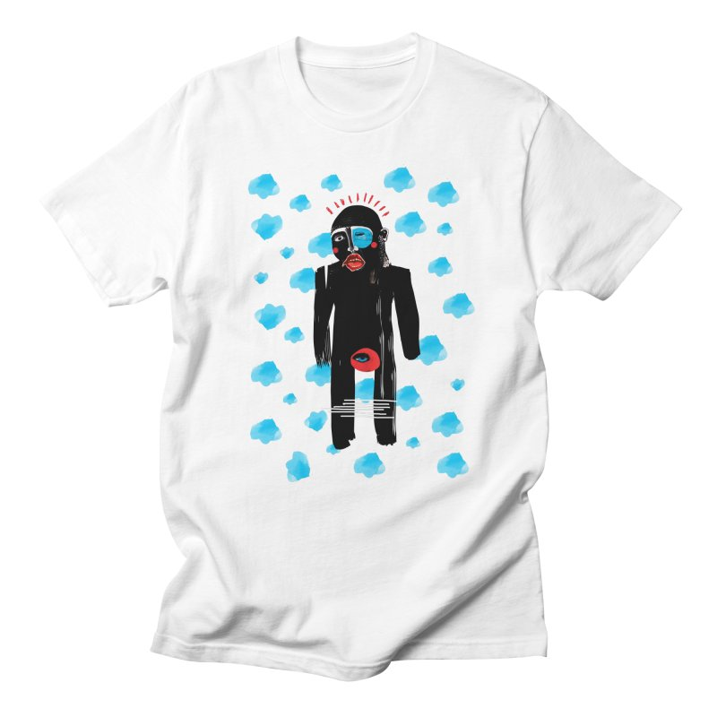 Man From Cloud Men's T-shirt by Snezana Pupovic SNEP