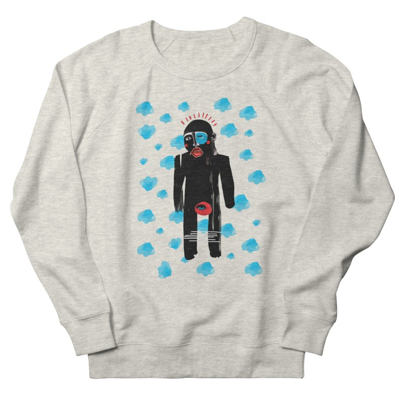 Man From Cloud Men's French Terry Sweatshirt by Snezana Pupovic SNEP