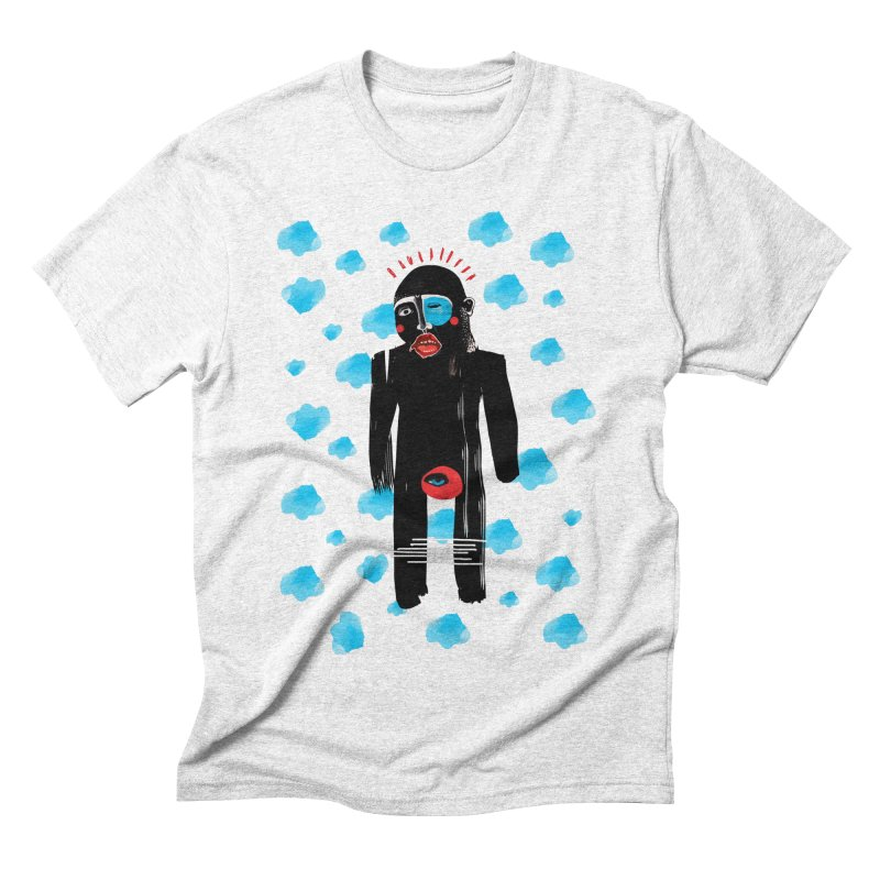 Man From Cloud Men's Triblend T-shirt by Snezana Pupovic SNEP