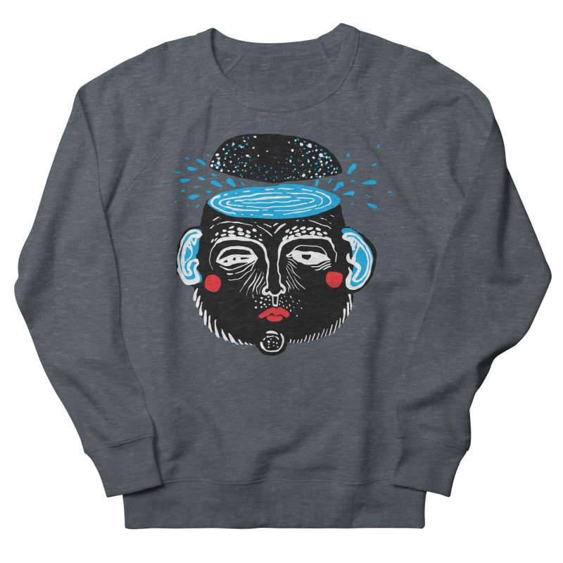 Puddle Men's French Terry Sweatshirt by Snezana Pupovic SNEP