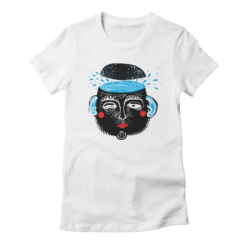 Puddle Women's Fitted T-Shirt by Snezana Pupovic SNEP
