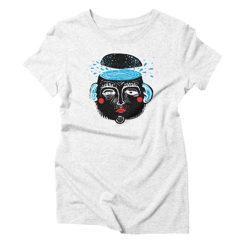 Puddle Women's Triblend T-shirt by Snezana Pupovic SNEP